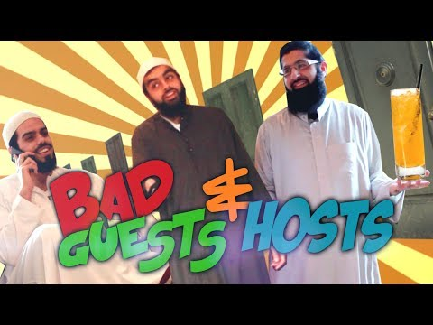 Bad guests and hosts