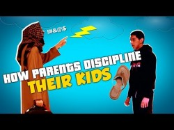 How parents discipline their kids