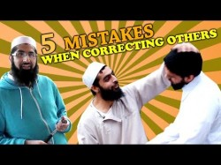 5 mistakes when correcting others