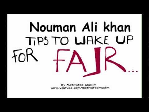 Tips for Fajr – Nouman Ali Khan – Illustrated