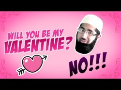 Will you be my Valentine? NO!