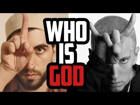 WHO IS GOD – ALLAH, JESUS OR EMINEM?