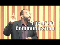 The Art of Communication – Yassir Fazaga