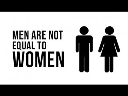 Men Are Not Equal To Women