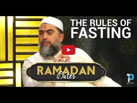 Rules of Fasting : Sh. Abu Adnan Mohamad