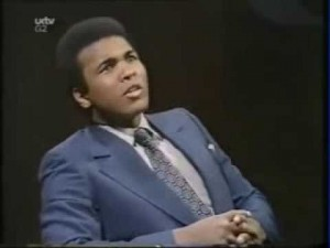Muhammad Ali Funny Interview – Racism in America and Islam was his light.