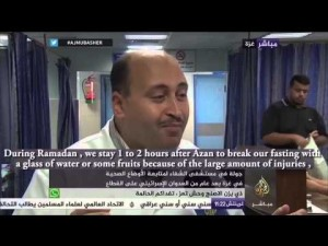 Human Aid UK: Al Shifa Hospital Gaza – Al Jazeera Interview – YouTube