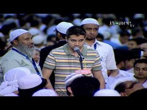 A young man argues with Dr Zakir Naik on various concepts of Islam.