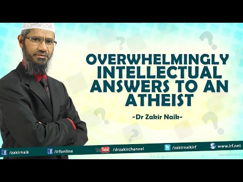 Atheist VS Dr Zakir Naik. Worth Watching.