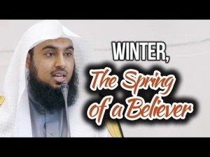 Winter, The Spring of a Believer – Sajid Umar