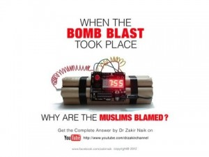 When the bomb blast took place,why are the Muslims blamed?