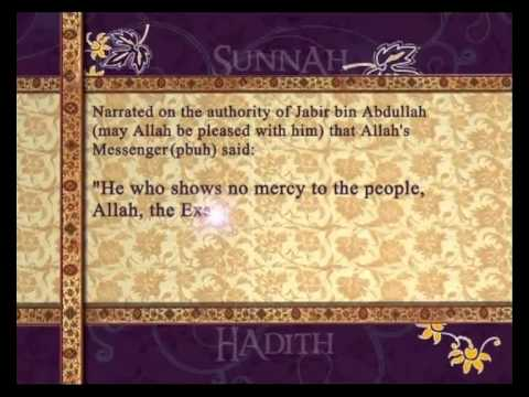 Show Mercy. Pearls of Prophet Muhammad (Peace be upon him).