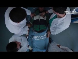 Human Aid UK: Al Shifa Hospital Gaza 2016