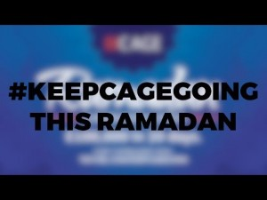 #KEEPCAGEGOING This Ramadan! ِUrgent Appeal