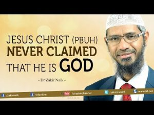 "Clear Proof. Jesus Christ (Peace be upon him) never claimed that he is God"" – Dr Zak ..."