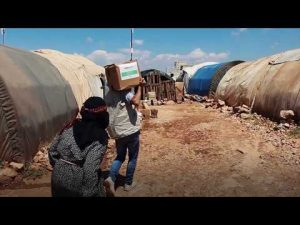 Human Aid UK | #Iftar1K distribution in Syria – YouTube