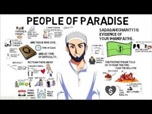 Short Reminder. 3 CHARACTERISTICS OF THE PEOPLE OF PARADISE – Abdur-Raheem McCarthy