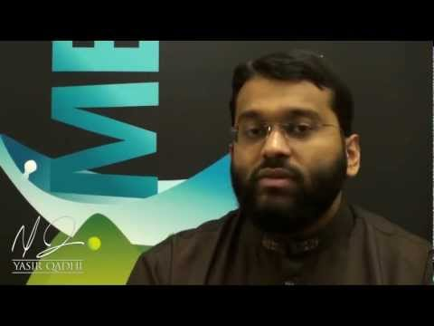 Short Reminder. Take advantage of five… before five! – Yasir Qadhi