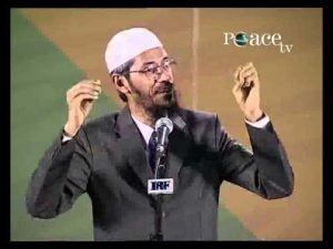 Dr. Zakir Naik. Who is responsible for creating Religious disputes?